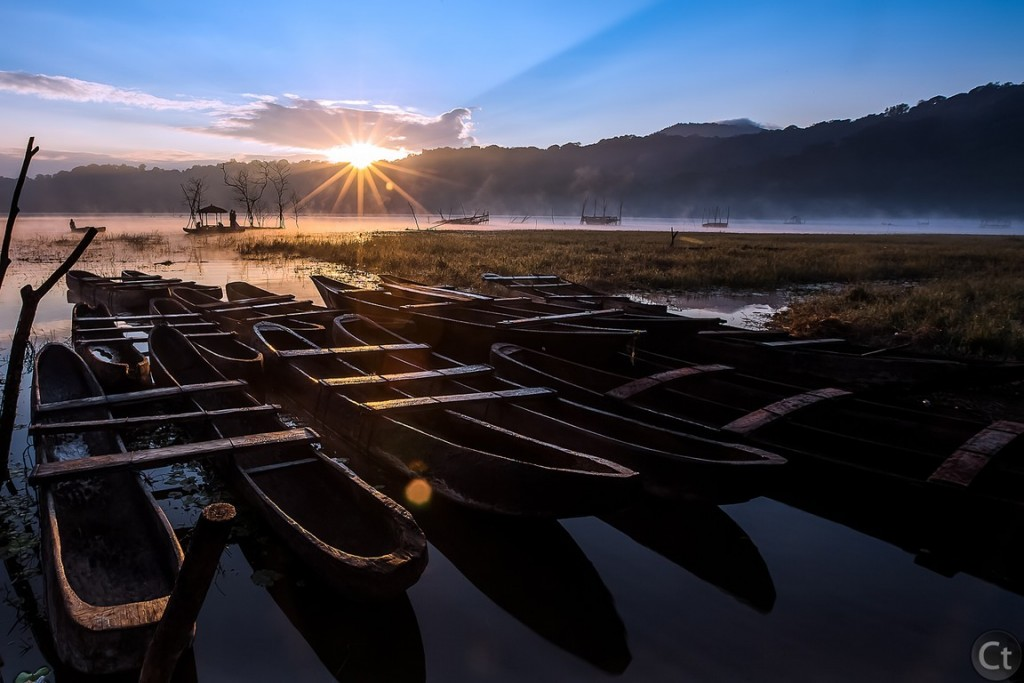 Almost Sunrise, Lake Tamblingan, Bali