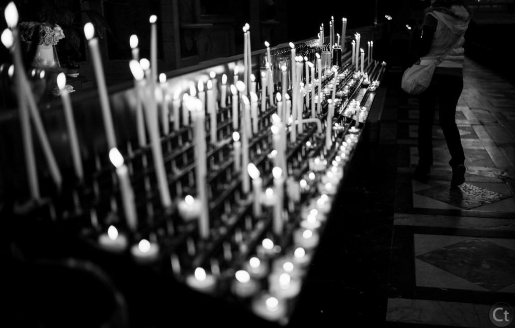 Candles, Notre-Dame Cathedral