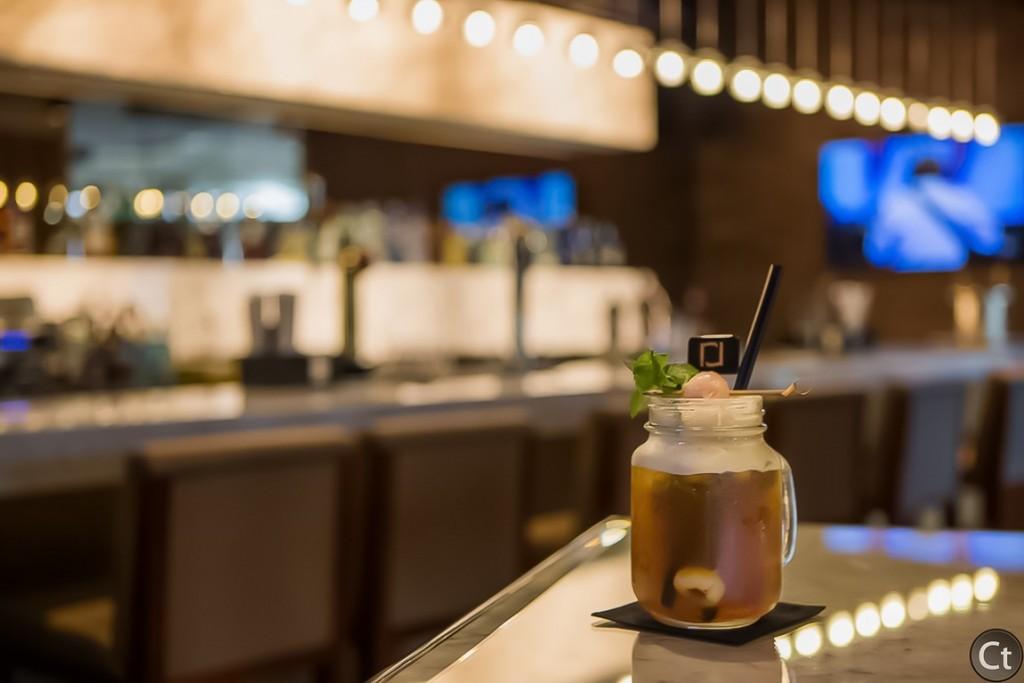 Lychee Tea at Riva Bar