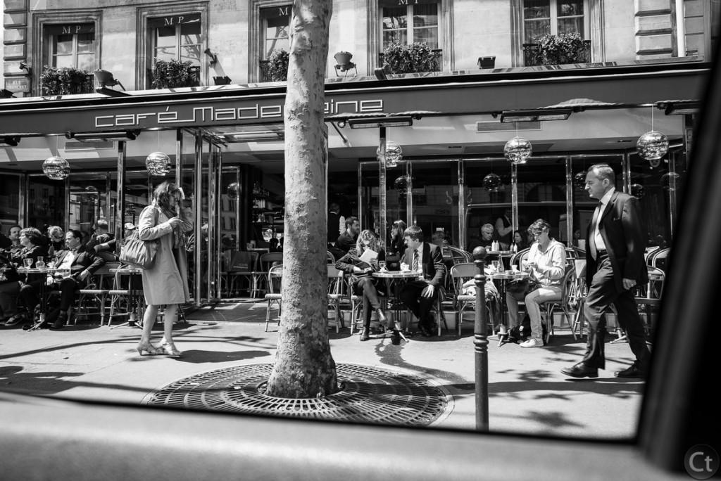 Meet me halfway in Cafe Madeleine