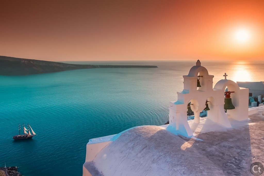 Oia's Sunset