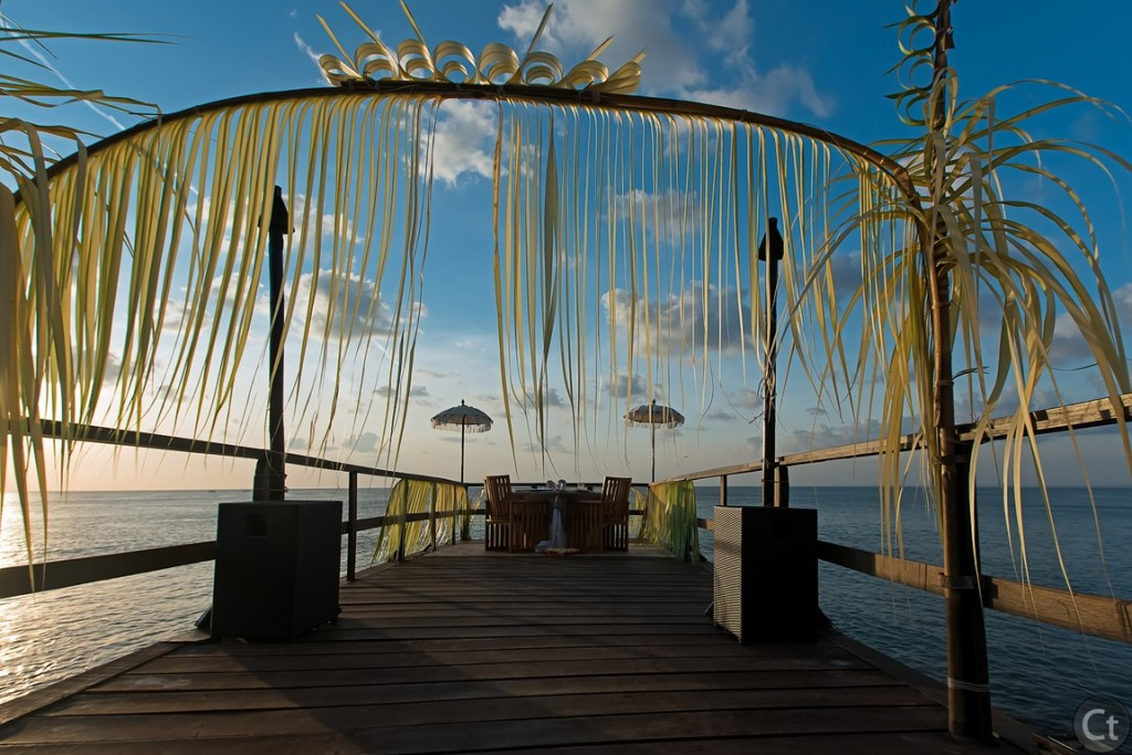 Romantic Dining at Kisik Jetty