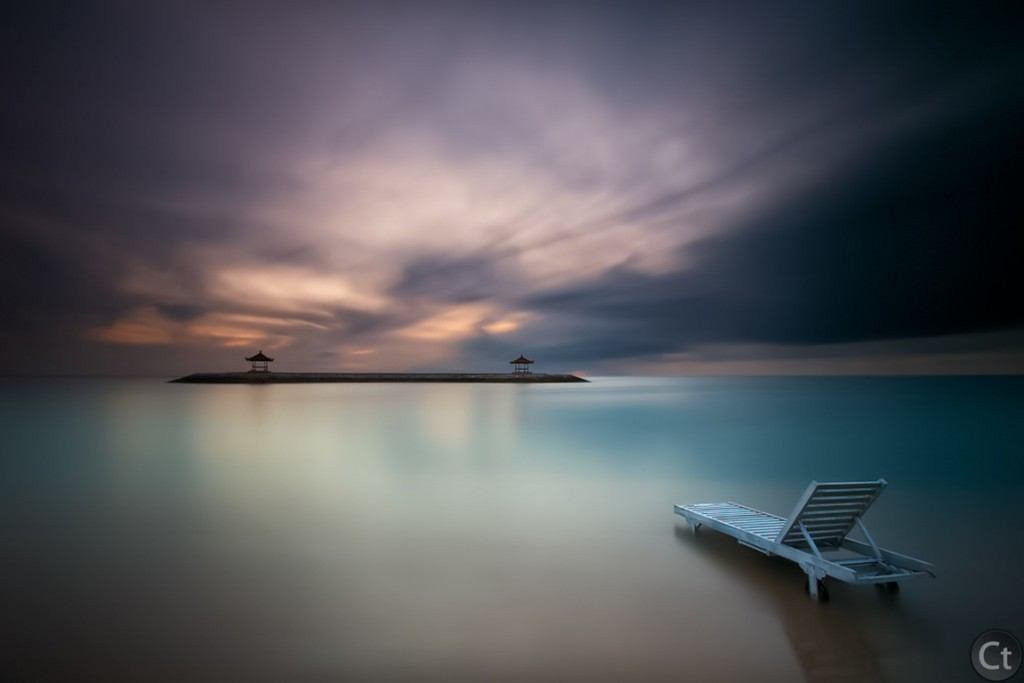 Silent Morning at Sanur Beach, Bali