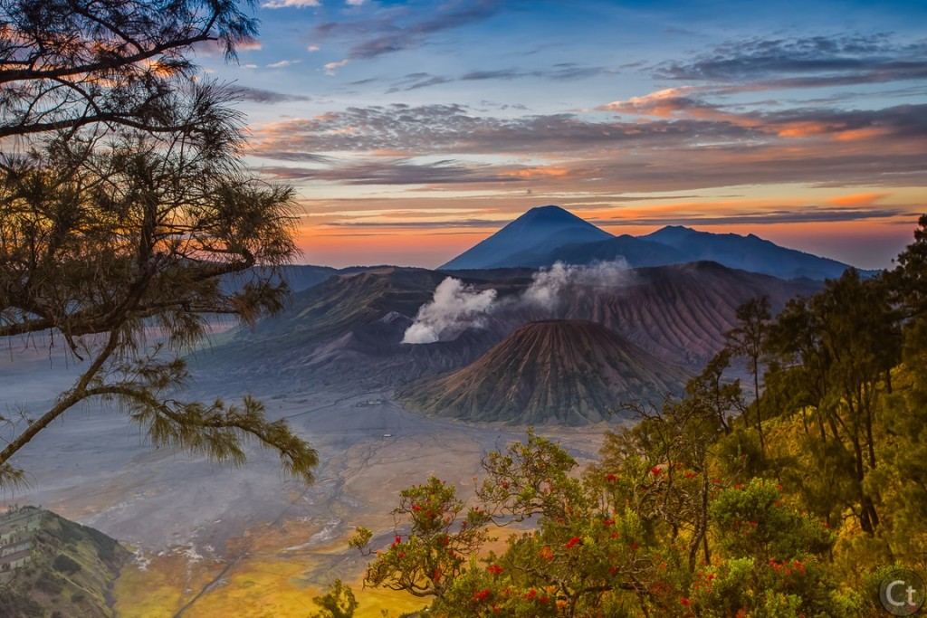 Sunrise in Mount Bromo, East Java