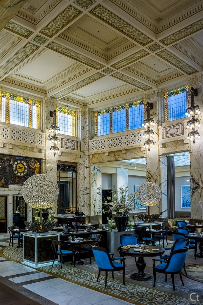 The Opulance of the Bank