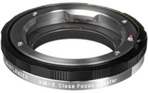 Voigtlander VM-E Close Focus Adapter for VM-Mount Lens to Sony E-Mount