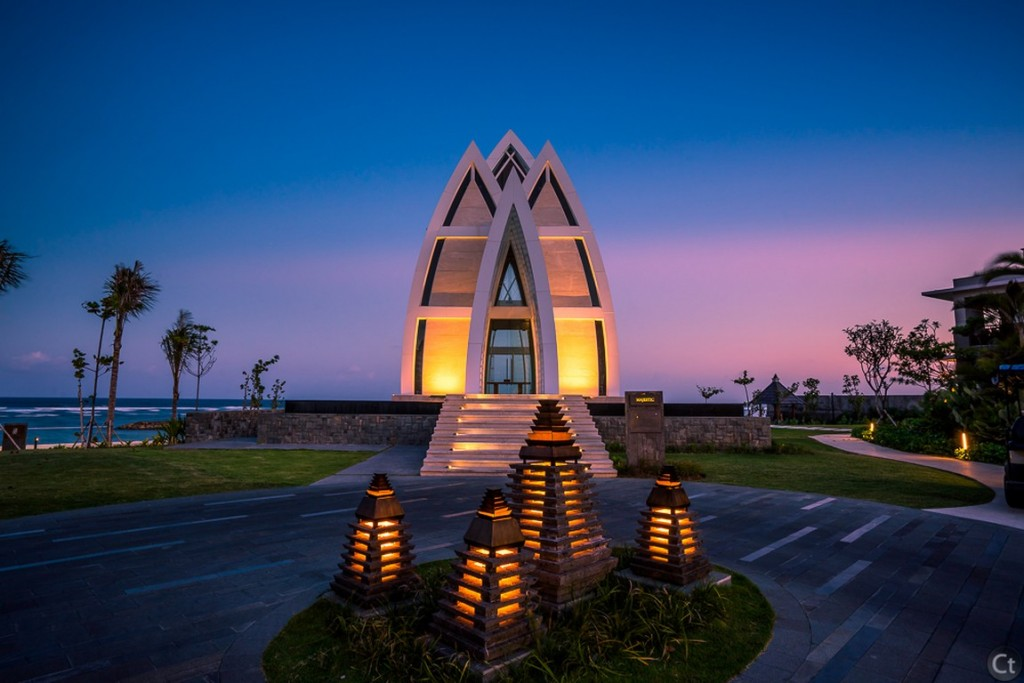Wedding Chapel at Twilight